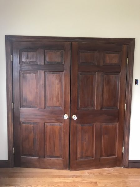 Before & After Door Staining in Clifton, NJ (3)